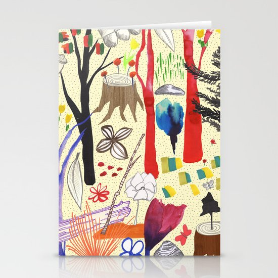 Magical Wood Stationery Card