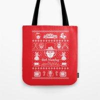 Merry Scroogedmas Tote Bag