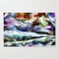 Wild Is The Sea Canvas Print