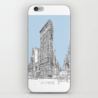 The Flat Iron iPhone & iPod Skin