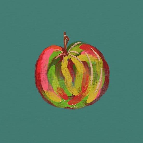 Irish Apple Art Print