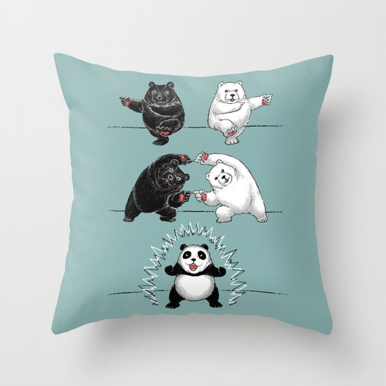 Ultimate Fusion! Throw Pillow
