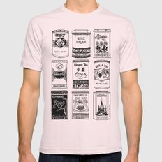 chinese teabox collection Mens Fitted Tee Light Pink SMALL