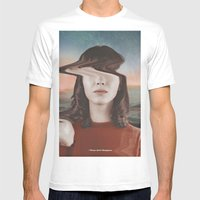 Please Don't Disappear Mens Fitted Tee White SMALL