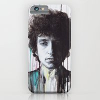 iPhone & iPod Case featuring Bob Dylan by Denise Esposito