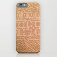 iPhone & iPod Case featuring Aztec Nude by kangarooster