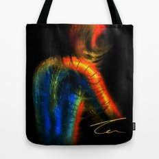 Twisted Spiderman Tote Bag