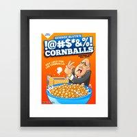 !@#$*&%! Cornballs! Framed Art Print