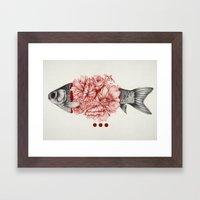 To Bloom Not Bleed III Framed Art Print