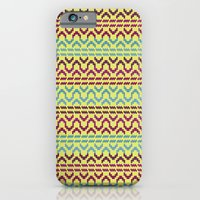 AZTEC Pattern 1-2 iPhone 6 Slim Case