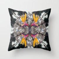 Mandala Series #09 Throw Pillow