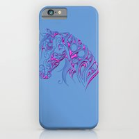 Chiseled Pink Horse iPhone 6 Slim Case
