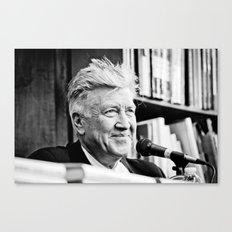 David Lynch (New York City, June 2011) Canvas Print