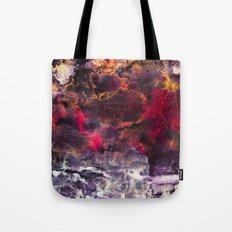 Abstract Encaustic I  /  Encaustique abstrait I  /  Encáustica abstracto I Tote Bag