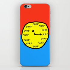 Surf Time All the Time iPhone & iPod Skin