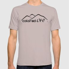 Colorad-OH! Creative Fun Wear Mens Fitted Tee Cinder SMALL