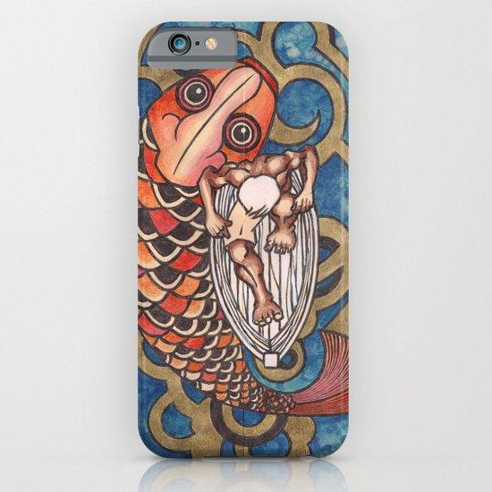 old fisherman iPhone & iPod Case