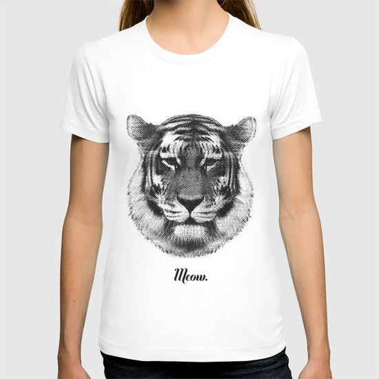 TIGER SAYS MEOW T-shirt