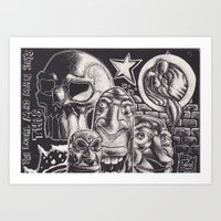 Art Print featuring Local by LocalMadMAn