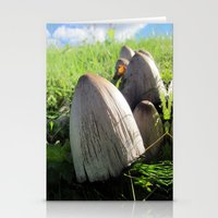 Organic Minaret Stationery Cards