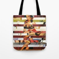 Glitch Pin-Up Redux: Bri… Tote Bag