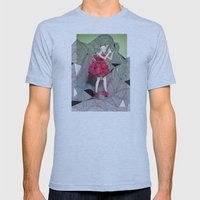 Alexander McQueen Doodle Bomb by Downtown Doodler Mens Fitted Tee Athletic Blue SMALL