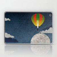 Picnic In A Balloon On T… Laptop & iPad Skin
