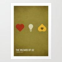 The Wizard Of Oz (Kid Fr… Art Print