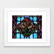 Rising From Glass Framed Art Print
