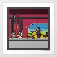 Mega Boss Battles - Palp… Art Print