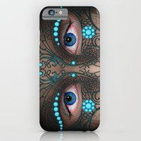 iPhone & iPod Case featuring Halloween Mask - Painting by Nicole Cleary