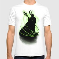 God Of Mischief Mens Fitted Tee White SMALL