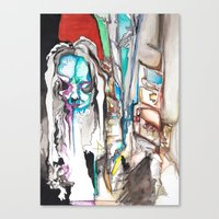 Lost in Moments Canvas Print