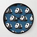 Pandas Wall Clock