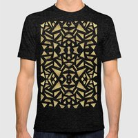 Ari's Gold Mens Fitted Tee Tri-Black SMALL