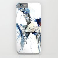 iPhone & iPod Case featuring My Swallow by Meg Ashford