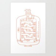 Intake Art Print