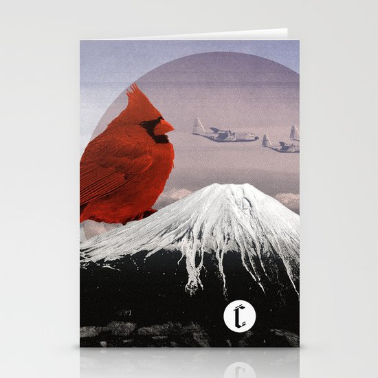 Mountain Song Stationery Card