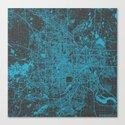 Minneapolis Blue Canvas Print
