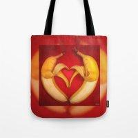 Banana Love Tote Bag