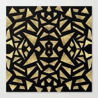 Ari's Gold Canvas Print