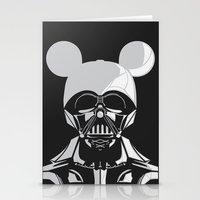 Dark Mouse Stationery Cards
