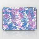 Elegant Painterly Floral Abstract iPad Case