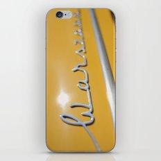 Warszawa iPhone & iPod Skin
