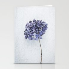 Dried Blue Hydrangea Stationery Cards