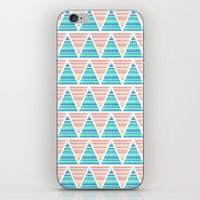 Mixed Aztec Pattern iPhone & iPod Skin