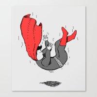 Fallen Hero Canvas Print