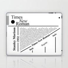 The Times New Roman Laptop & iPad Skin