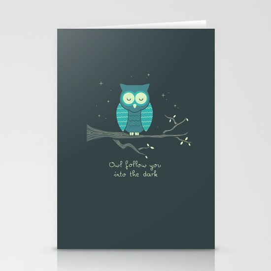 The Romantic Stationery Card