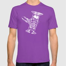 Grab Life Mens Fitted Tee Ultraviolet SMALL